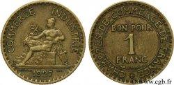 1 franc Chambres de Commerce 1927 Paris F.218/9 TTB  40