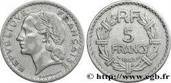 5 francs Lavrillier, aluminium 1945 Beaumont-Le-Roger F.339/4 XF40