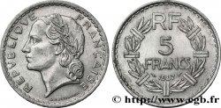 5 francs Lavrillier, aluminium 1947 Beaumont-Le-Roger F.339/11 BB48