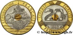 20 francs Mont Saint-Michel 1992 Pessac F.403/2 SPL63