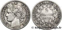 2 francs Cérès, avec légende 1873 Paris F.265/10 BB40