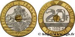 20 francs Mont Saint-Michel 1992 Pessac F.403/4 SUP60