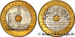 20 francs Jeux Méditerranéens 1993 Pessac F.404/2 SUP62