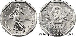 2 francs Semeuse, nickel 1988 Pessac F.272/12 MS64
