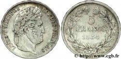 5 francs IIe type Domard 1834 Paris F.324/29 VF25