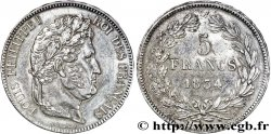 5 francs IIe type Domard 1834 Lille F.324/41 VZ58