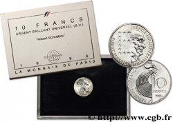 Brillant Universel argent 10 francs Robert Schuman 1986 Paris F5.1303 3 FDC70