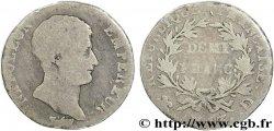 Demi-franc Napoléon Empereur, Calendrier révolutionnaire 1805 Lyon F.174/12 G5