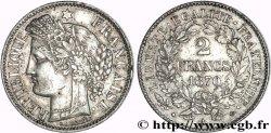 2 francs Cérès, avec légende 1870 Paris F.265/1 MS60