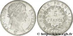 5 francs Napoléon Empereur, Empire français 1812 Bordeaux F.307/47 AU50