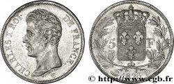 5 francs Charles X, 1er type 1826 Lyon F.310/18 SS48