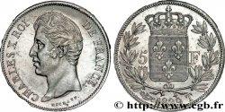 5 francs Charles X, 2e type 1829 Nantes F.311/38 SUP  58