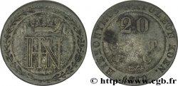 20 centimes 1810 Cassel VG.2028 VG8