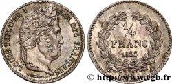 1/4 franc Louis-Philippe 1833 Paris F.166/30 SUP62