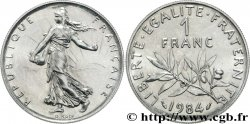 1 franc Semeuse, nickel 1984 Pessac F.226/29 MS60