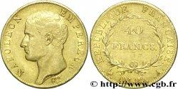 40 francs or Napoléon tête nue, Calendrier révolutionnaire 1805 Paris F.537/2 BB45