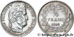 1/4 franc Louis-Philippe 1840 Rouen F.166/81 SUP  60