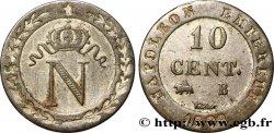 10 cent. à lN couronnée 1809 Rouen F.130/11 VF  40