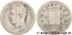 1 franc Charles X 1828 Rouen F.207A/3 B13