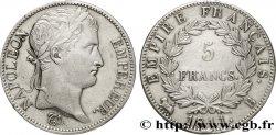 5 francs Napoléon Empereur, Empire français 1811 Rouen F.307/28 AU50