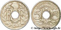 5 centimes Lindauer, petit module 1924 Poissy F.122/9 XF40