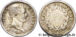 Demi-franc Napoléon Ier tête laurée, Empire français 1813 Perpignan F.178/60 G  12