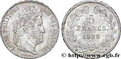 5 francs IIe type Domard 1838 Rouen F.324/69 TTB  54