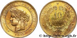 10 centimes Cérès 1883 Paris F.135/27 AU58