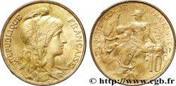 10 centimes Daniel-Dupuis 1908  F.136/17 SUP  62
