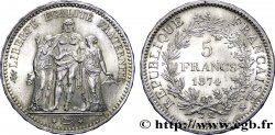 5 francs Hercule 1874 Bordeaux F.334/13 SPL  64