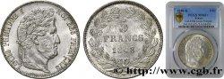5 francs IIIe type Domard 1848 Bordeaux F.325/19 SUP62 PCGS