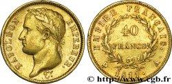 40 francs or Napoléon tête laurée, Empire français 1811 Paris F.541/6 TTB  45