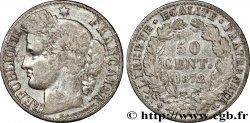 50 centimes Cérès, IIIe République 1872 Paris F.189/3 TB  15