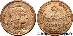 2 centimes Daniel-Dupuis 1900 Paris F.110/4 XF45