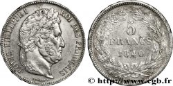 5 francs IIe type Domard 1840 Lille F.324/89 AU52