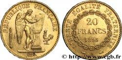 20 francs or Génie, Troisième République 1895 Paris F.533/19 MS60