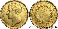 40 francs or Napoléon tête nue, type transitoire 1807 Lille F.539/5 XF45