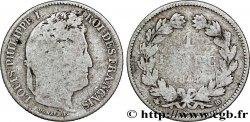1 franc Louis-Philippe, couronne de chêne 1844 Strasbourg F.210/97 RC7