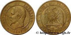 Dix centimes Napoléon III, tête nue 1857 Paris F.133/40 TTB40