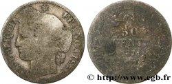 50 centimes Cérès, IIIe République 1871 Bordeaux F.189/2 GE5