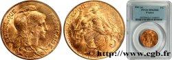 5 centimes Daniel-Dupuis 1901  F.119/11 MS63 PCGS