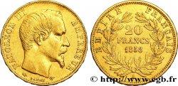 20 francs or Napoléon III, tête nue 1858 Paris F.531/13 TTB45
