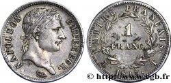 1 franc Napoléon Ier tête laurée, Empire français 1813 Nantes F.205/69 TTB48