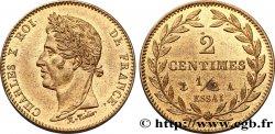 Essai de 2 centimes et demi en cuivre n.d. Paris VG.2618 VZ60