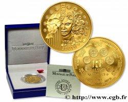 Belle Épreuve Or 65,5957 francs - La parité 2001 Pessac F5.1550 3 FDC70