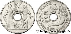 Essai de 25 centimes par Peter, petit module 1913 Paris VG.4759 MS63