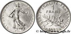 1 franc Semeuse, nickel 1971 Paris F.226/16 SUP60