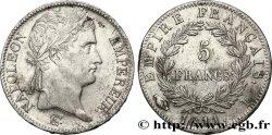 5 francs Napoléon Empereur, Empire français 1811 Limoges F.307/32 TTB  45
