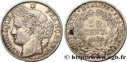 50 centimes Cérès, IIIe République 1873 Paris F.189/5 TTB50
