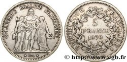 5 francs Hercule 1870 Paris F.334/1 XF45